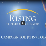 Graphic : Rising to the Challenge, Campaign for JH