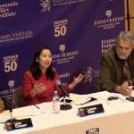 Lisa Cooper, Leana Wen, and Robert Hahn discussing health and race in America