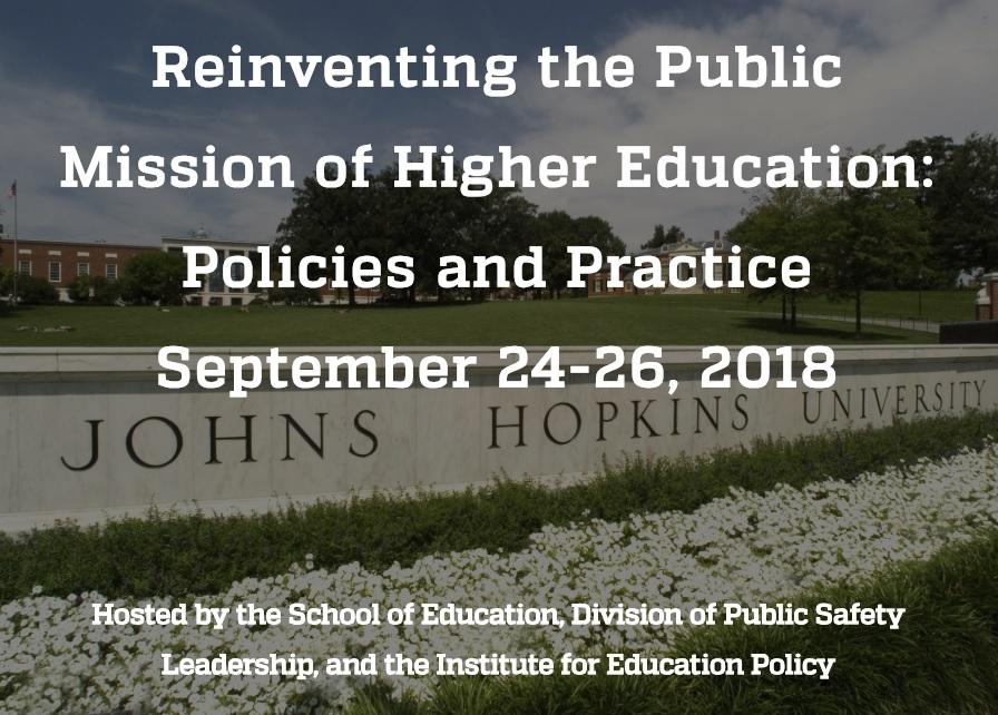 Higher Education Reform Banner